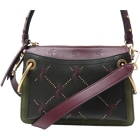 Leather Shoulder Bag CHLOÉ Multicolor