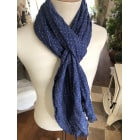 Scarf TOMMY HILFIGER Blue, navy, turquoise