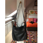 Leather Handbag CLAUDIE PIERLOT Black