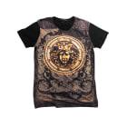 Top, t-shirt VERSACE Nero
