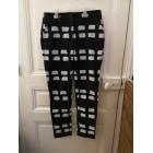 Pantalon droit VIVIENNE WESTWOOD Noir