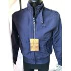Blouson SCHOTT Bleu, bleu marine, bleu turquoise