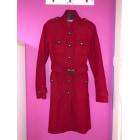 Manteau ETAM Rouge, bordeaux