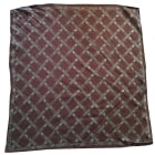 Foulard LONGCHAMP Marron