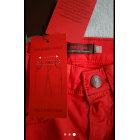 Pantalon CATIMINI Rouge, bordeaux