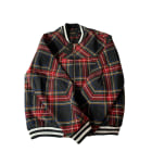 Zipped Jacket MAJE Red, burgundy