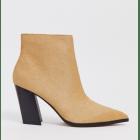 Bottines & low boots à talons ASOS Beige, camel