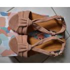 Flat Sandals SÉZANE Pink, fuchsia, light pink