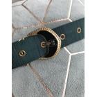 Skinny Belt VINTAGE Green