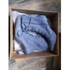 Bottines & low boots à talons ASOS Gris, anthracite