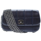 Leather Handbag CHANEL Timeless - Classique Blue, navy, turquoise