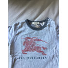 Tee-shirt BURBERRY Gris, anthracite