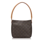 Borsa a tracolla in pelle LOUIS VUITTON Brown
