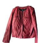 Zipped Jacket COMPTOIR DES COTONNIERS Red, burgundy