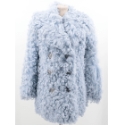 Fur Jackets GUCCI Blue, navy, turquoise
