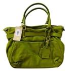 Leather Handbag VANESSA BRUNO Green