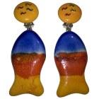 Boucles d'oreille CACHAREL Orange
