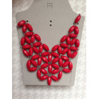 Necklace SIX Red, burgundy