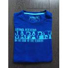 Tee-shirt NAPAPIJRI Bleu, bleu marine, bleu turquoise