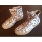 Bottines & low boots plates AIGLE 39 noir vendu par Clwf