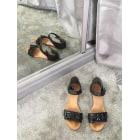 Sandales plates  SEE BY CHLOE Noir