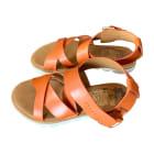 Sandales plates  SEE BY CHLOE Orange