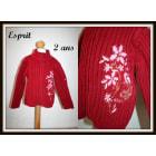 Gilet, cardigan ESPRIT Rouge, bordeaux
