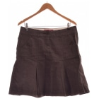 Midi Skirt ESPRIT Gray, charcoal
