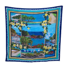 Foulard DOLCE & GABBANA Bleu, bleu marine, bleu turquoise
