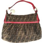 Non-Leather Shoulder Bag FENDI Marrone