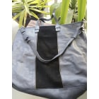 Leather Handbag SÉZANE Blue, navy, turquoise