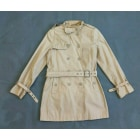 Imperméable, trench DKNY Beige, camel