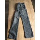 Straight Leg Jeans IKKS Gray, charcoal