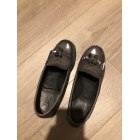 Loafers MAJE Gray, charcoal
