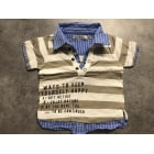 Top, tee shirt TAPE À L'OEIL Gris, anthracite