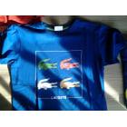 Tee-shirt LACOSTE Bleu, bleu marine, bleu turquoise