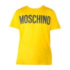 Tee-shirt MOSCHINO Jaune