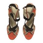 Sandales à talons BALENCIAGA Multicouleur