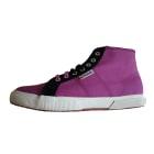 Chaussures de sport SUPERGA Rose, fuschia, vieux rose