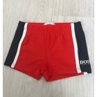 Boxer de bain HUGO BOSS Rouge, bordeaux