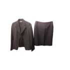 Tailleur jupe GEORGES RECH Gris, anthracite
