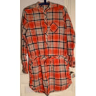 Robe tunique PEPE JEANS Orange