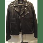Veste en cuir THE KOOPLES 52 (L) noir vendu par Romy75 7626440