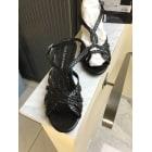 Sandales compensées PONS QUINTANA Noir