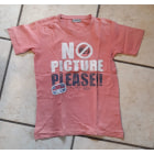 Tee-shirt TAPE À L'OEIL Rose, fuschia, vieux rose