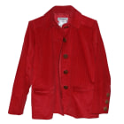 Jacket YVES SAINT LAURENT Red, burgundy
