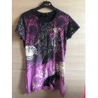 Top, tee-shirt CHRISTIAN AUDIGIER Violet, mauve, lavande