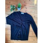Gilet, cardigan DE FURSAC Bleu, bleu marine, bleu turquoise