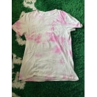 Tee-shirt PULL & BEAR Rose, fuschia, vieux rose