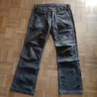 Pantalon large ZARA Marron